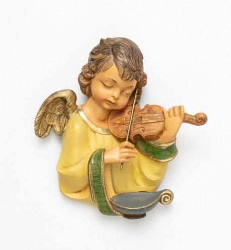 Ange avec un violon (167), H 20 cm