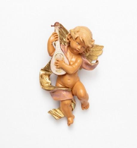 Ange avec une mandoline (365), H 22 cm