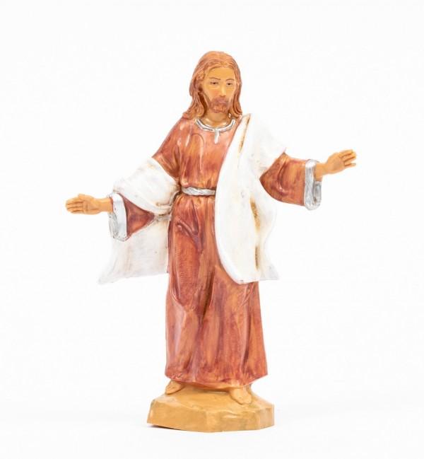 Jésus à Cana en Galilée (584C), H 12 cm