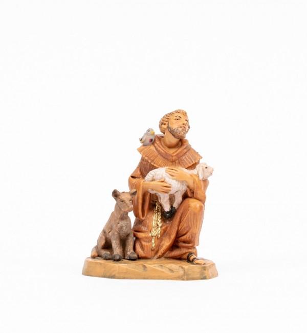 Saint-François avec des animaux (649), H 11 cm