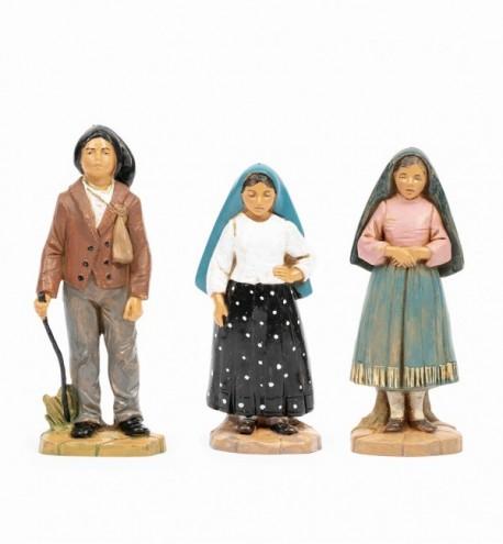 Bergers de Fatima, H 16 cm