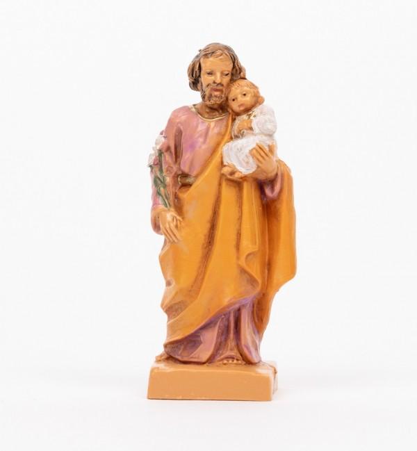 Saint-Joseph avec l'Enfant (1205), H 7 cm
