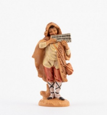 Berger jouant Fl/ûte de pan 19/cm Fontanini Figurines cr/èche