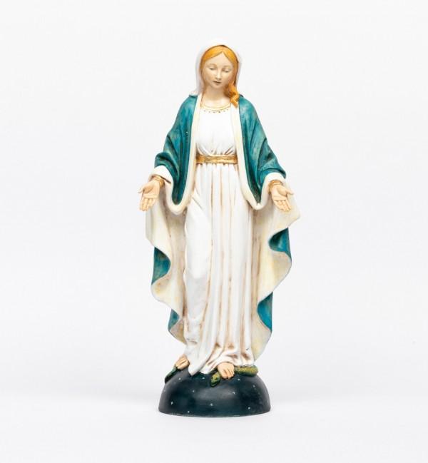 Sainte Vierge en résine, H 50 cm